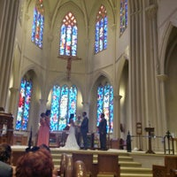 Photo taken at Saint Cecilia Church by Pam G. on 6/4/2016