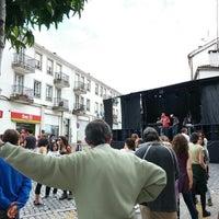 Photo taken at Cruz de San Pedro by Santi L. on 6/28/2014