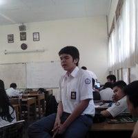 Photo taken at SMA Negeri 22 Bandung by Fajar A. on 5/20/2014