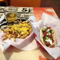 Photo taken at Billy's Gourmet Hot Dogs by Dominic C. on 1/3/2013