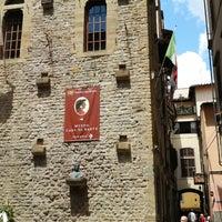 Photo taken at Museo Casa di Dante by GiTaek L. on 6/4/2014