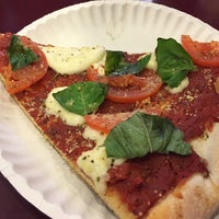Photo taken at Antonio's Pizza by the Slice by Mazanin F. on 12/1/2014