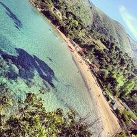 Photo taken at Spiaggia Di Straccoligno by Maurizio F. on 7/27/2014