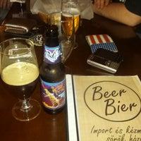 Photo taken at BeerBier by Adam K. on 12/20/2012
