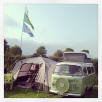 Photo taken at Cardigan Bay Camping and Caravanning Club Site by Martin B. on 6/25/2013