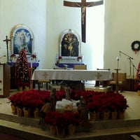 Photo taken at Our Lady Queen Of Heaven Catholic Church by Anna S. on 12/24/2012