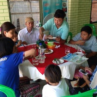 Photo taken at Ngwe Hline Si Restaurant by Kyaw Min S. on 4/19/2014