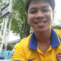 Photo taken at Football Field Happy Condo by PopKung G. on 5/26/2014