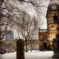 Photo taken at Birmingham Cathedral and Churchyard by Josh S. on 3/23/2013