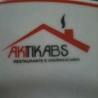 Photo taken at Akitikabs Restaurante e Churrascaria by Mel on 5/21/2013