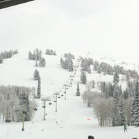 Photo taken at Grand Targhee Resort Alta by Emily E. on 12/28/2012