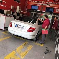 Photo taken at Konya Oto Check-up Ekspertiz Merkezi by Fikri Ç. on 5/5/2018