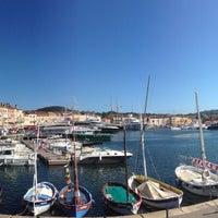 Photo taken at Port de Saint-Tropez by Khorevskiy L. on 6/20/2013