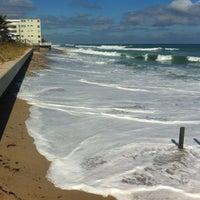 Photo taken at Lantana Beach by hArri on 11/19/2012