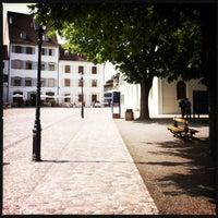 Photo taken at Münsterplatz by Fee P. on 7/11/2013