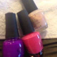 Photo taken at Fancy Nails 2 by Nakia on 5/27/2013