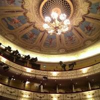 Photo taken at Svenska Teatern by Albina R. on 5/23/2014