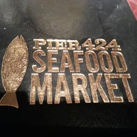 Photo taken at Pier 424 Seafood Market by James H. on 10/1/2012