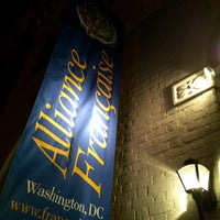 Photo taken at Alliance Française de Washington by Marco on 1/14/2015