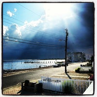 Photo taken at Brant Beach by Beth S. on 7/8/2013