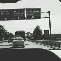 Photo taken at Belek-Antalya yolu by Soner Ç. on 3/3/2017