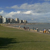 Photo taken at Costanera Miramar by Claudio C. on 1/5/2013