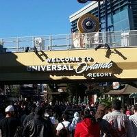 Photo taken at Universal Orlando Resort by Sakura A. on 12/21/2012