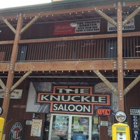 Photo taken at Knuckle Saloon by Curtis C. F. on 5/27/2013