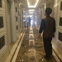 Photo taken at La Perle International Hotel by Alika A. on 8/10/2015