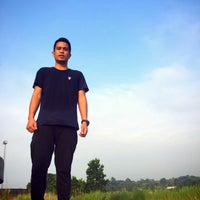 Photo taken at Stadion Utama Riau by Damen P. on 3/13/2016