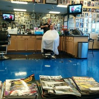 Photo taken at Vick's Barber Shop by Manny R. on 5/27/2014