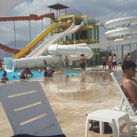Photo taken at niğde aqua park by Handan on 7/13/2014