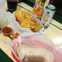 Photo taken at Tito's Burritos & Wings by danielle m. on 3/12/2013