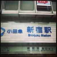 Photo taken at Shinjuku Station by リク on 5/24/2013
