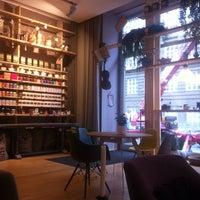 Photo taken at La Bohème Café by Krista Z. on 7/29/2014