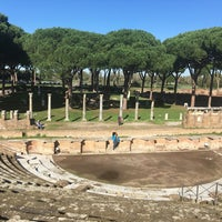 Photo taken at Teatro Ostia Antica by Александр М. on 11/9/2016