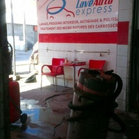 Photo taken at LaveAuto express Total by حسن on 7/4/2013