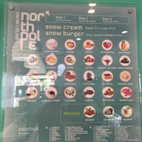 Photo taken at North Pole Snow Cream with White Drop Espresso by Super S. on 7/16/2015