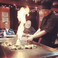 Photo taken at Hayashi Japanese Hibachi and Sushi Bar by Patrick W. on 12/30/2013