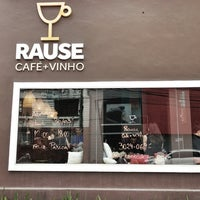 Photo taken at Rause Café e Vinho by ROMULO R. on 3/30/2013