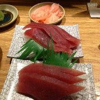 Photo taken at Isobune Sushi by Sas M. on 6/22/2013