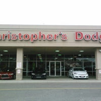 Photo taken at Christopher's Dodge World by David B. on 12/14/2012