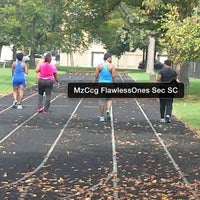 Photo taken at Foster Park Field House by Coatcheckgirl™ on 10/5/2013