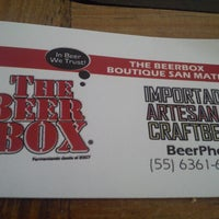 Photo taken at The Beer Box by González M. on 9/10/2013