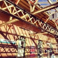 Photo taken at Aberystwyth Railway Station (AYW) by Fazy A. on 6/4/2013