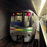 Photo taken at Oedo Line Daimon Station (E20) by Masashi O. on 9/20/2013