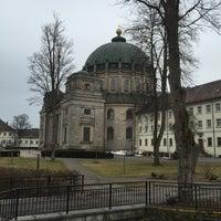 Photo taken at Sankt Blasien by Roger S. on 3/28/2015