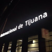 Photo taken at Aeropuerto Internacional de Tijuana (TIJ) by Da S. on 7/6/2013