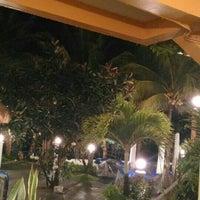 Photo taken at P&M Final Option Beach Resort & German Bistro by Khrista Dielle C. on 6/8/2016