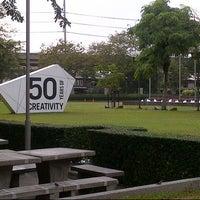 Photo taken at Bangkok University International College (BUIC) by Arthy P. on 11/14/2012